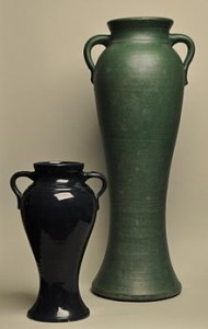 Rebekah Vases from Bauer Pottery Co., circa 1925